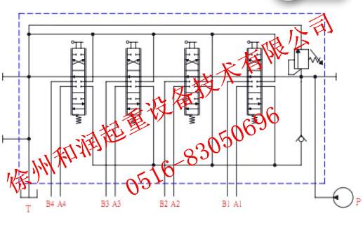 吊机原理电路图
